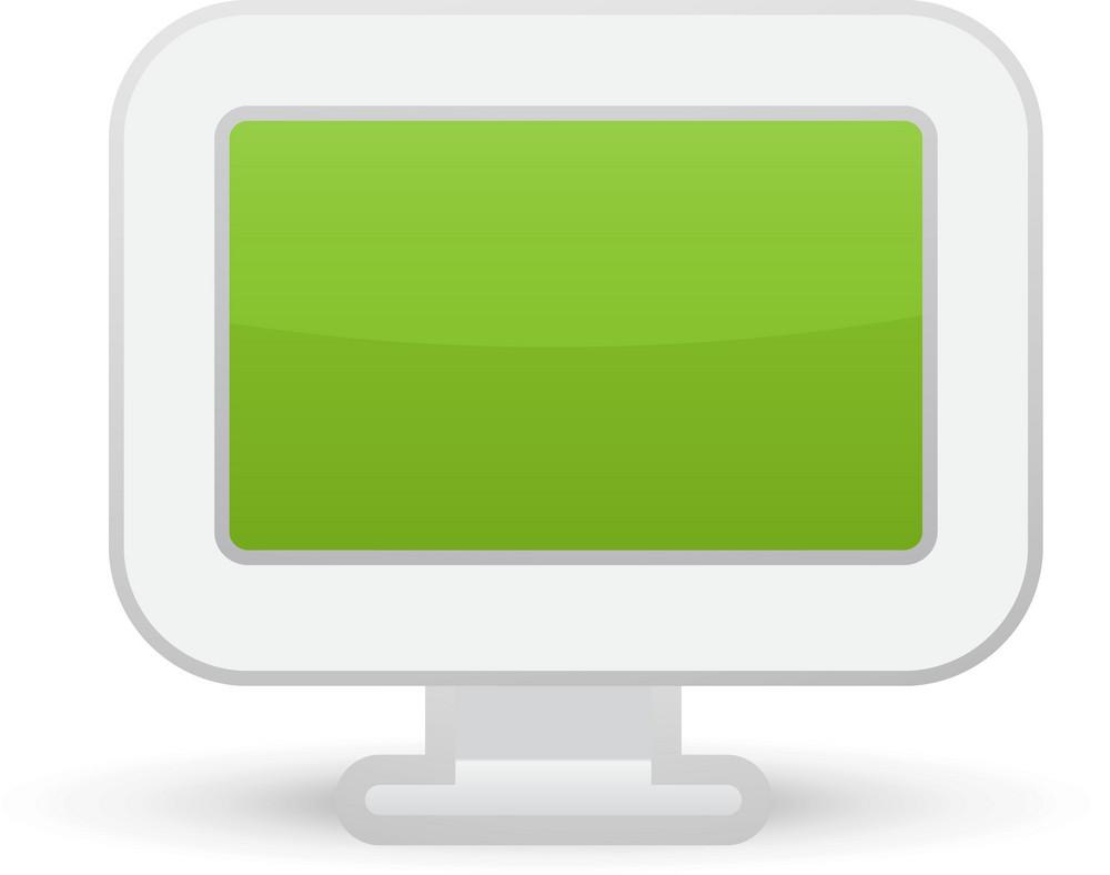 Monitor Lite Computer Icon