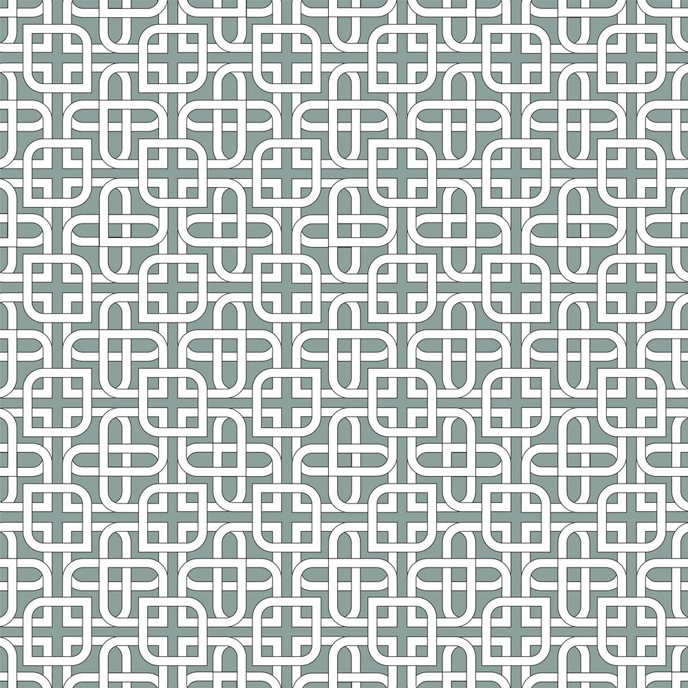 Monochromatic Arabic Pattern