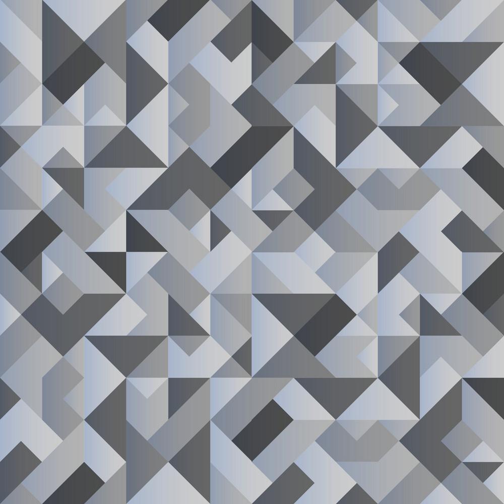 Monochrome Geometric Background
