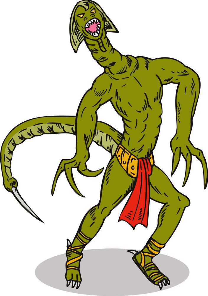 Monster Alien Tailfront