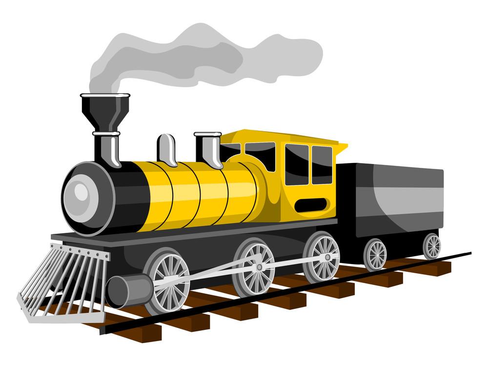 Morden Fast Train.