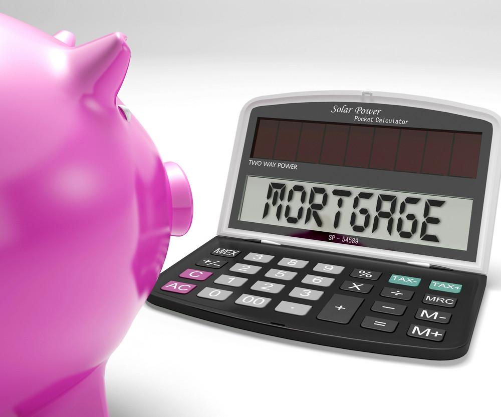 Mortgage Calculator Shows Purchase Of Home Loan