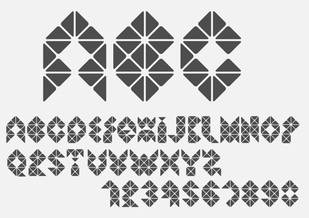 Alfabeto Mosaic