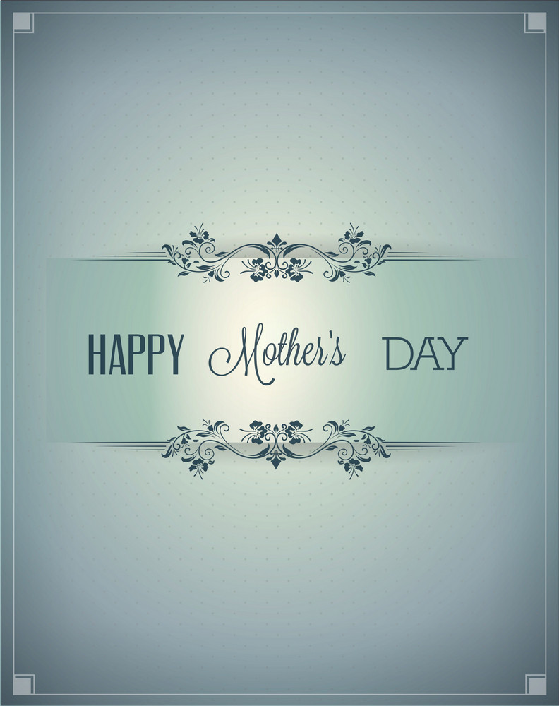Mother's Day Vector Illustration