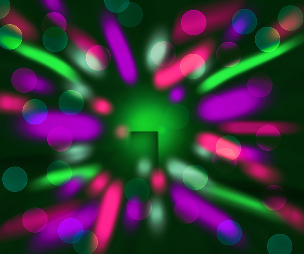 Motion Abstract Lights Background