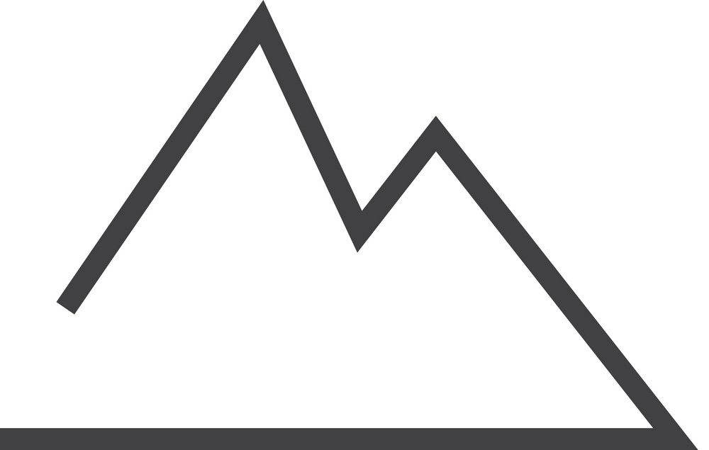 Mountain Minimal Icon