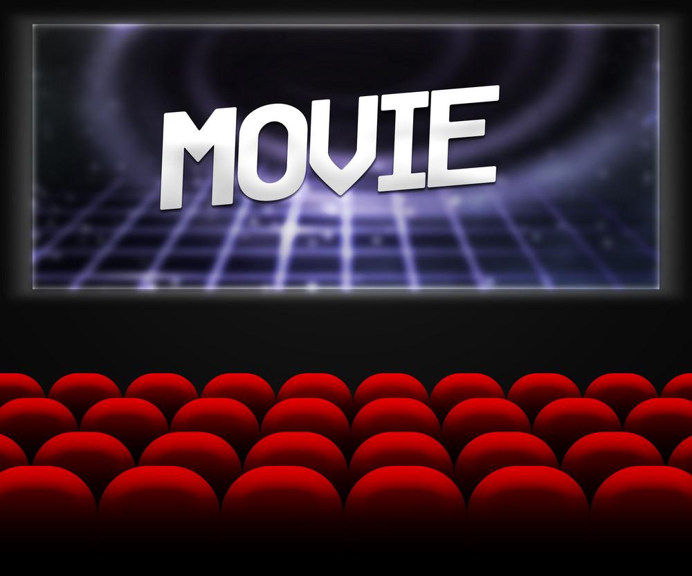 Movie Cinema Hall Background