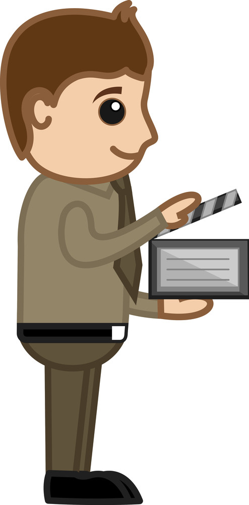 Movie Direction - Business Cartoons Vectors