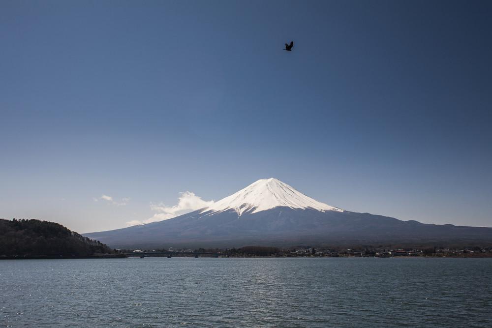 Mt. Fuji landmark. Japan