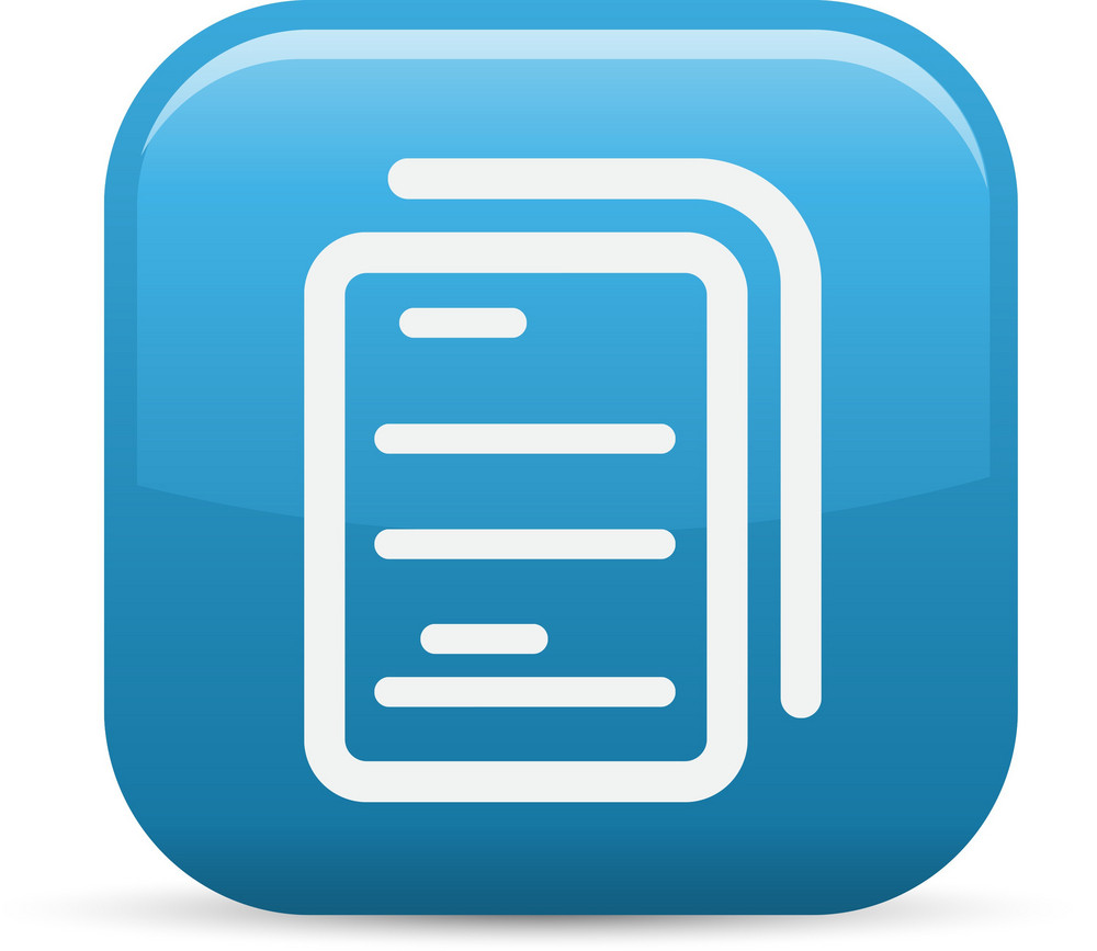 Multiple Files Elements Glossy Icon