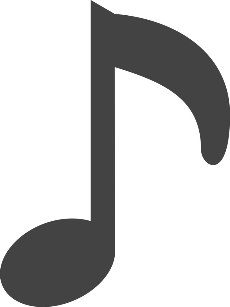 Music 2 Glyph Icon