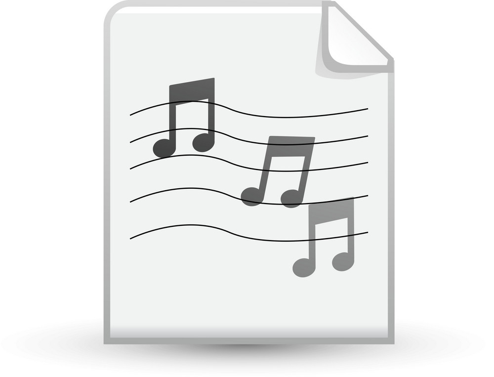 Music Sheet Lite Media Icon