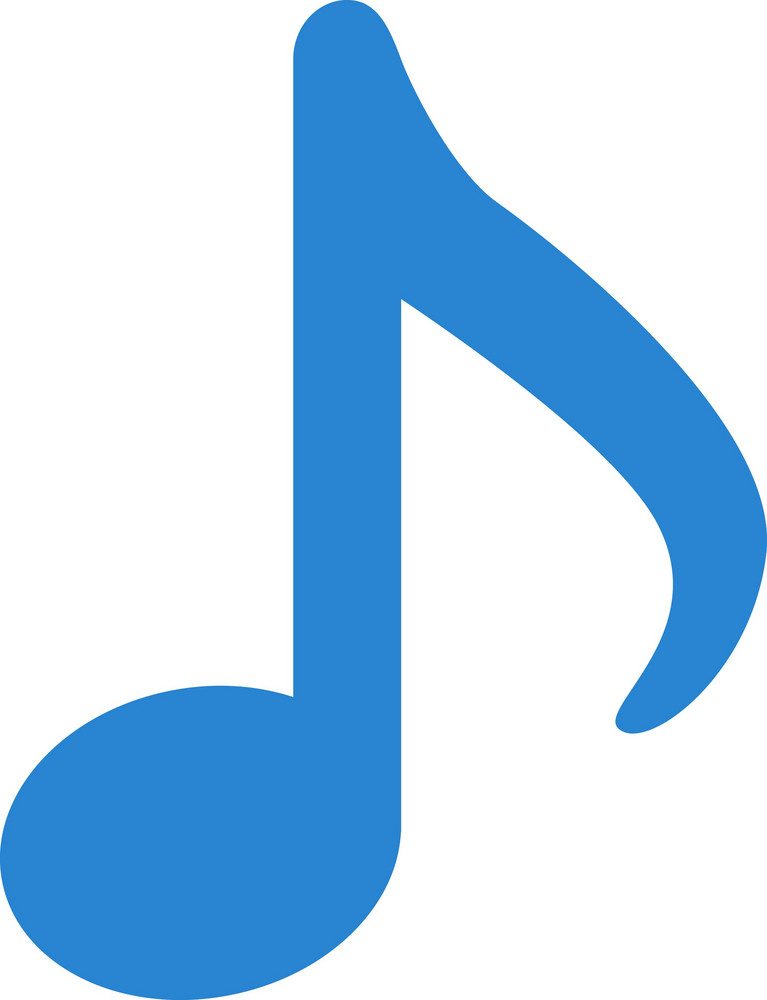 Musical Note Simplicity Icon