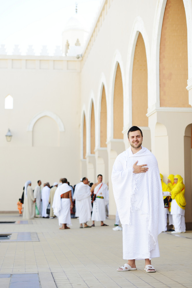 Muslim standing