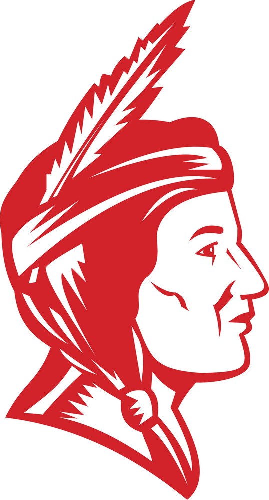 Native American Indian Squaw Woman