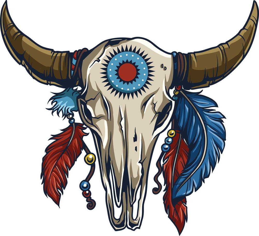 Native American Vector Element