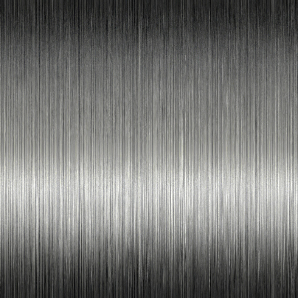 Natural looking dark brushed aluminum texture that works great as a background.