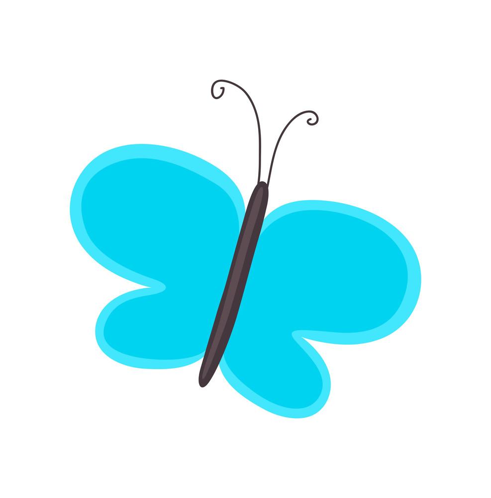 Nature Butterfly Cartoon Clipart