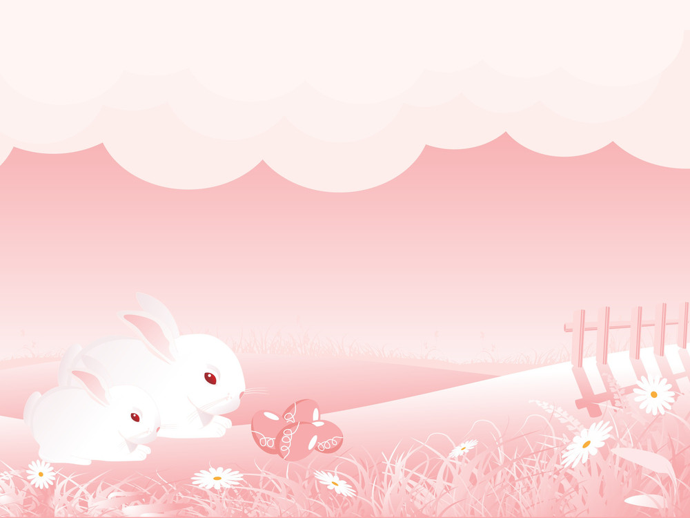 Nature Pattern Easter Background