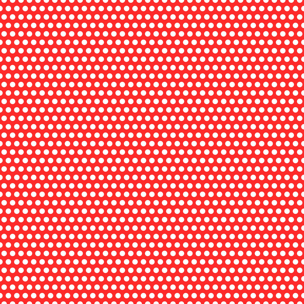 Nautical Pattern Of White Polka Dots On A Red Background