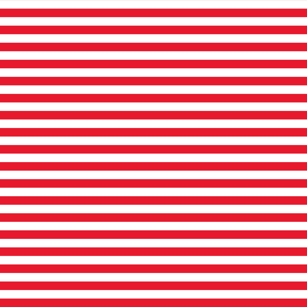 Nautical Red And White Striped Pattern