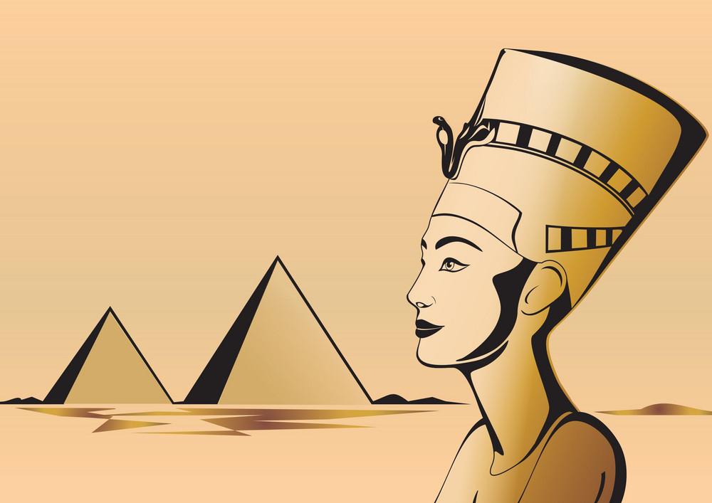 Nefertiti Egyptian Theme