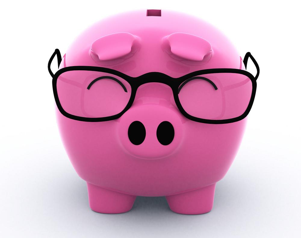 Nerd Piggy Bank 3d