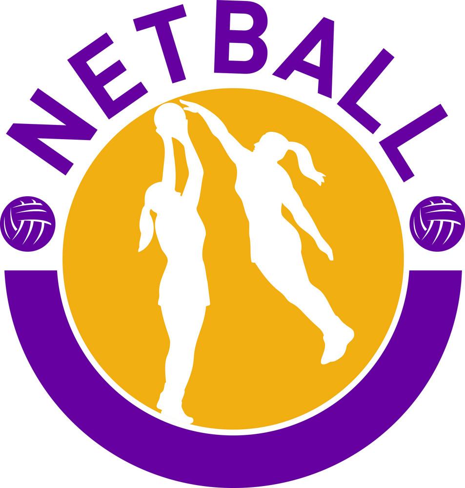 Netball Player Shooting Blocking The Shot