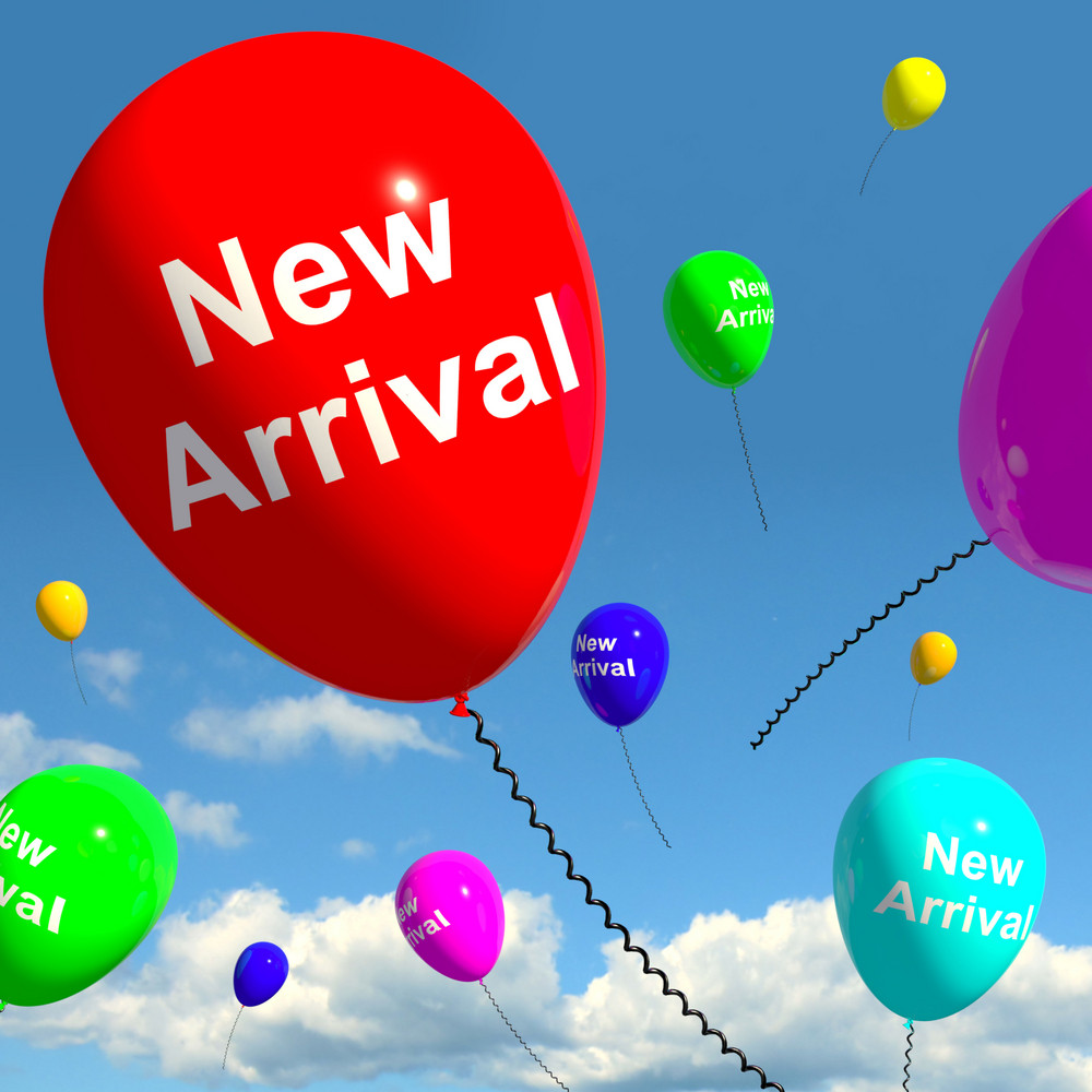 New Arrival Balloons In The Sky Showing Latest Product Online Or New Baby