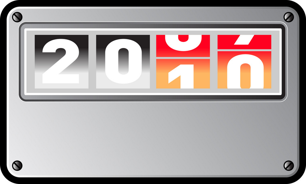 New Year 2010 Counter