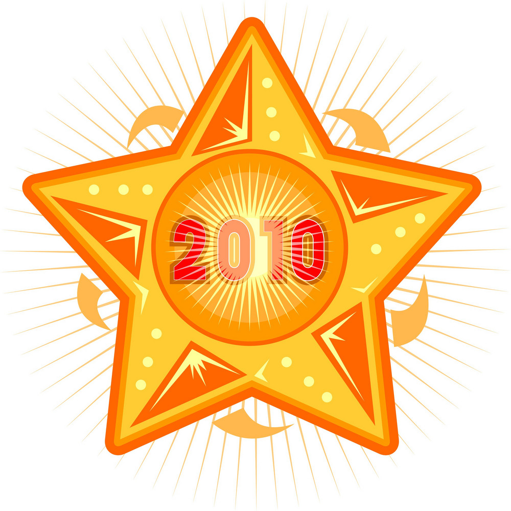 New Year 2010 Star