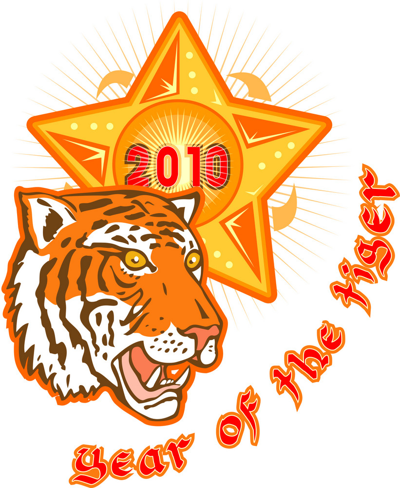 New Year 2010 Year Of The Tiger