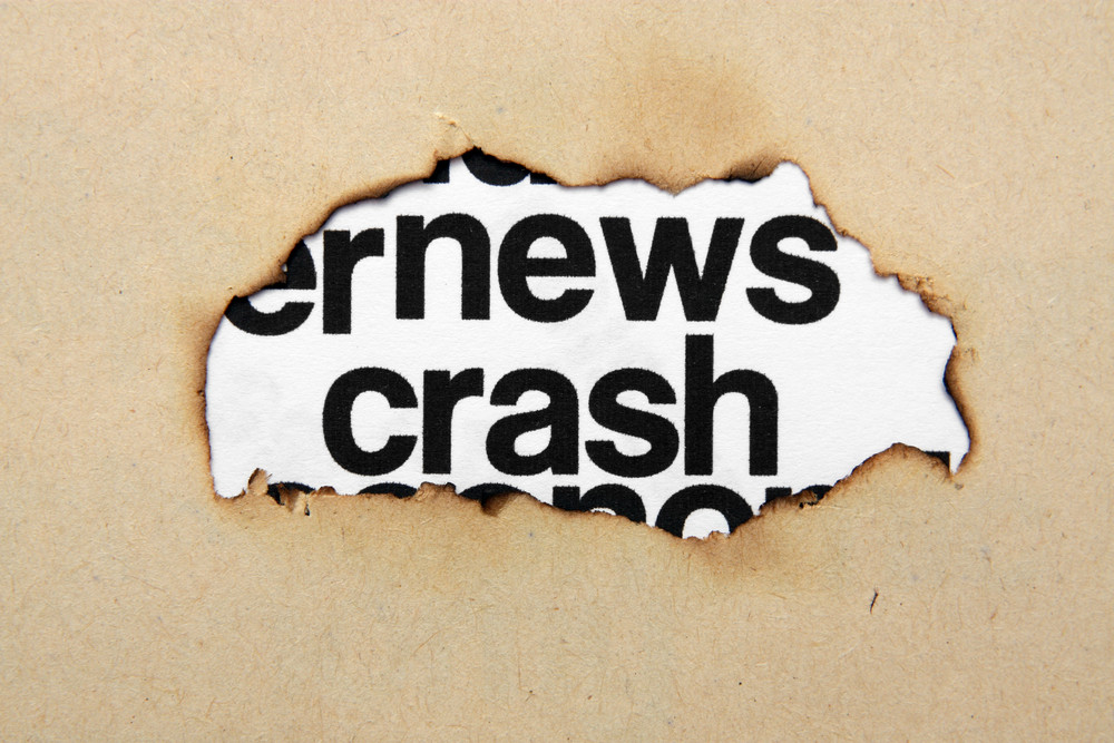 News Crash Concept