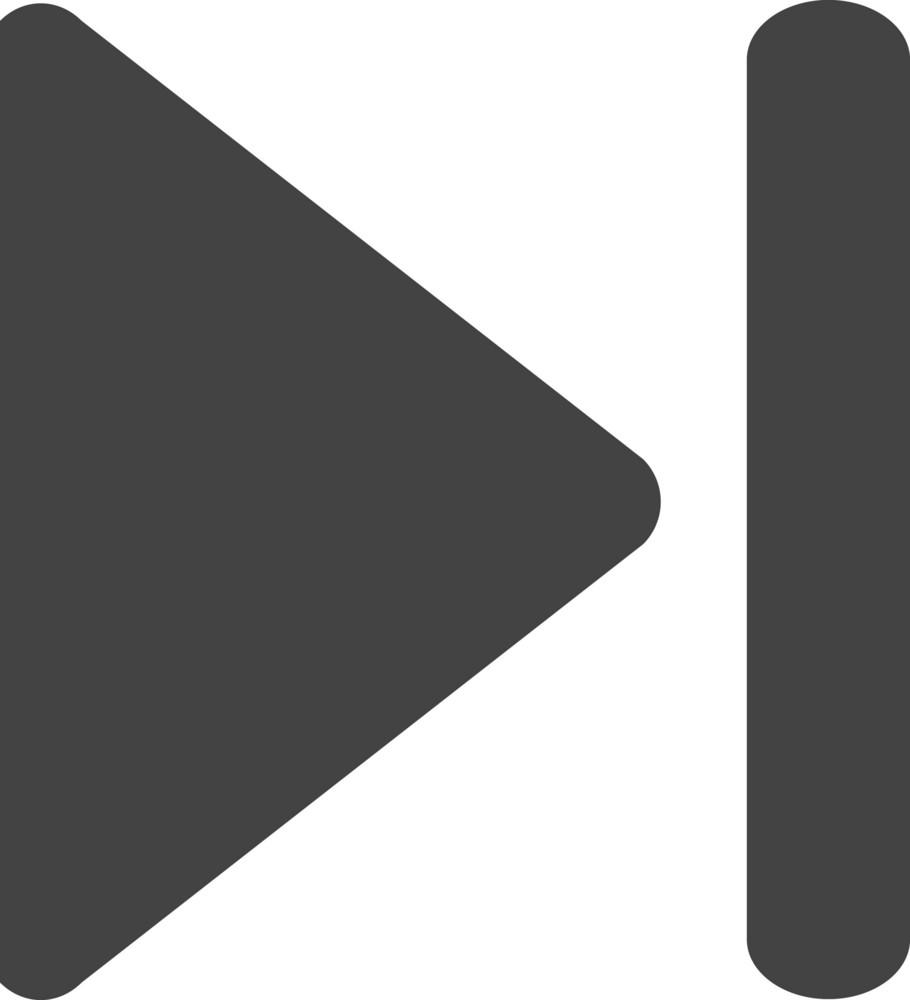Next 1 Glyph Icon