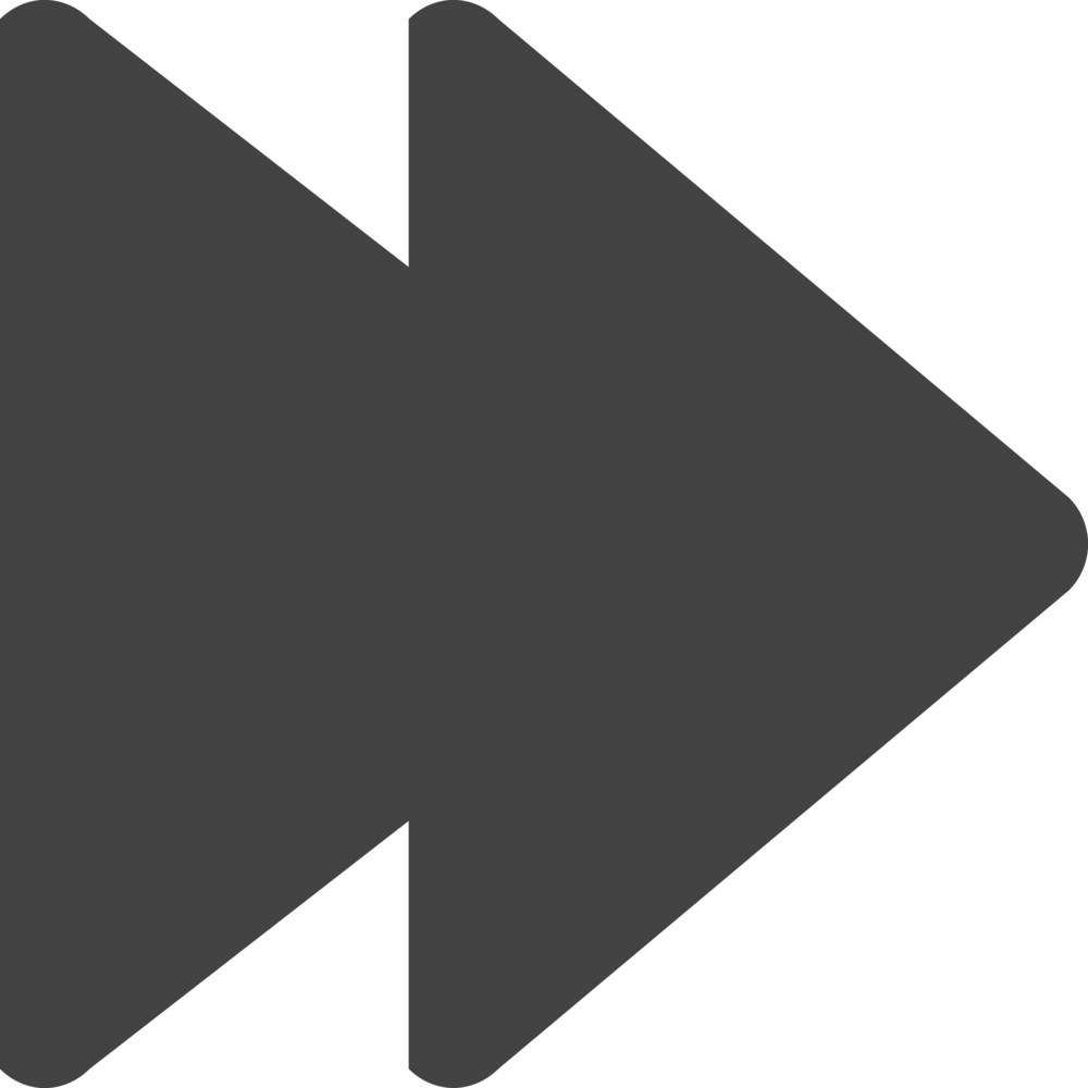 Next 2 Glyph Icon