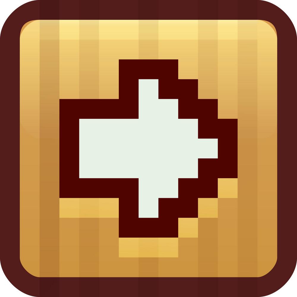 Next Arrow Brown Tiny App Icon