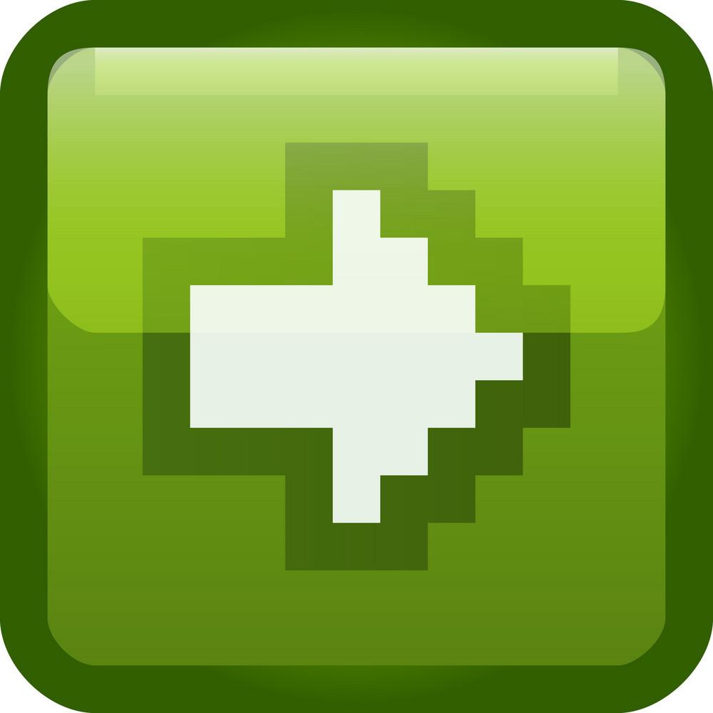 Next Arrow Green Tiny App Icon