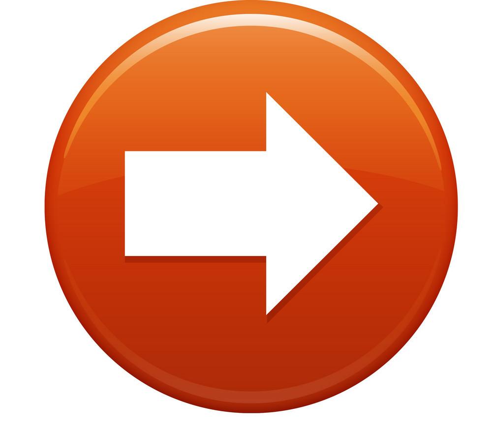 Next Arrow Orange Circle