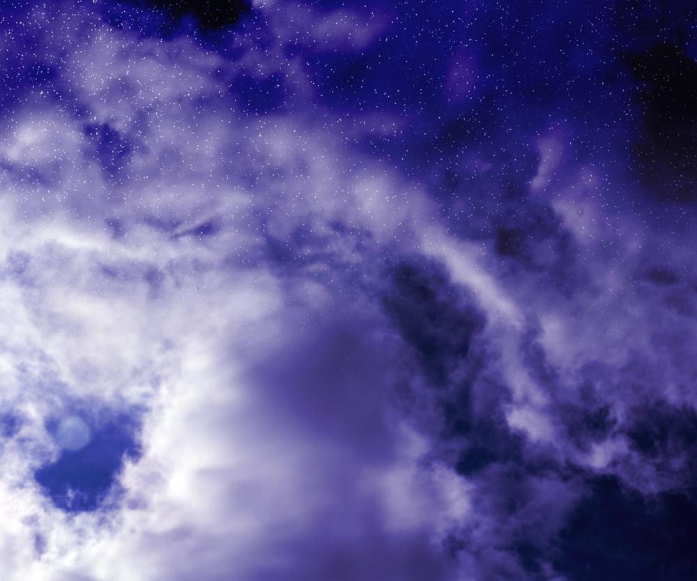 Night Blue Sky Image