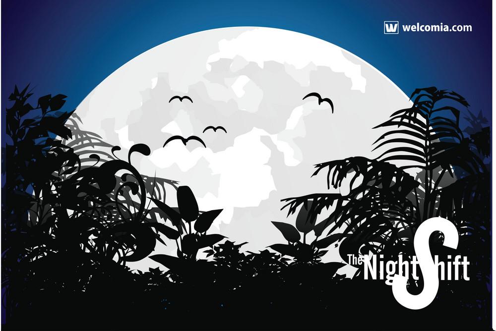 Night Shift Vector