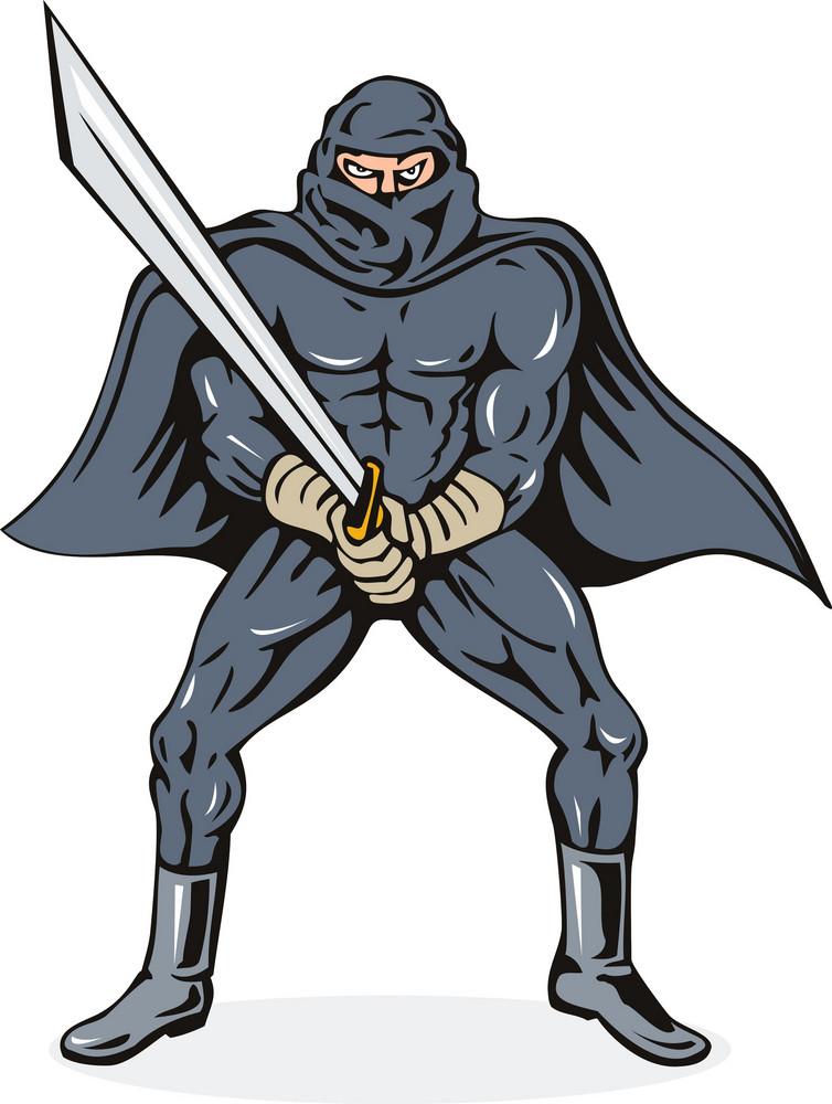 Ninja With Sword