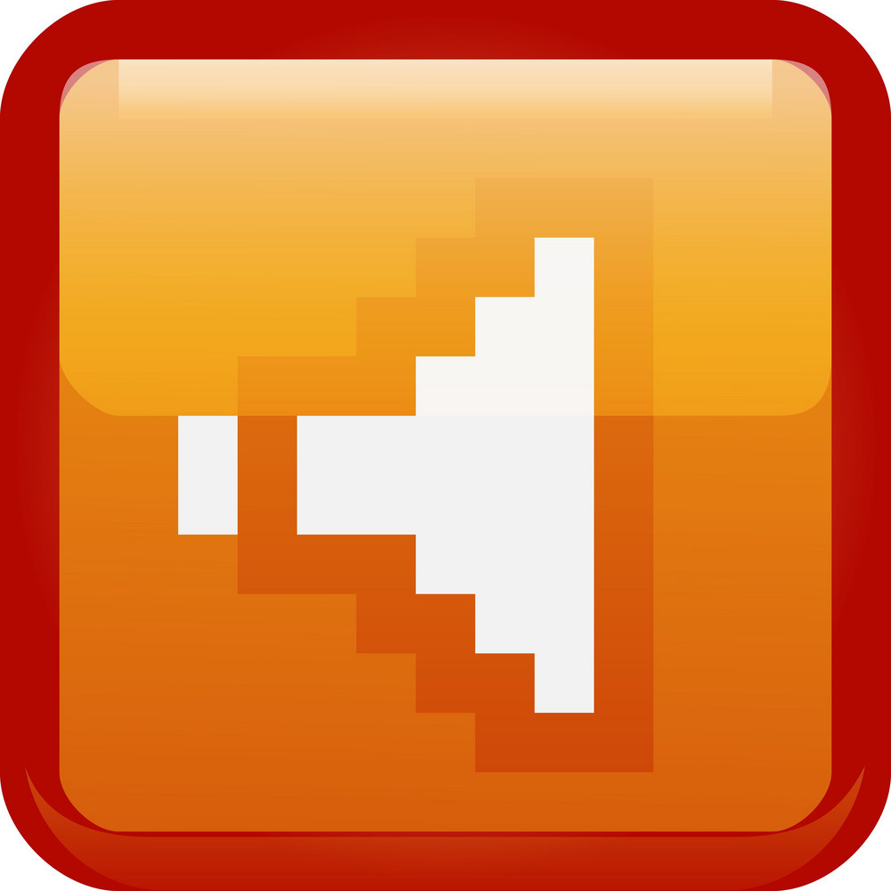 No Volume Orange Tiny App Icon