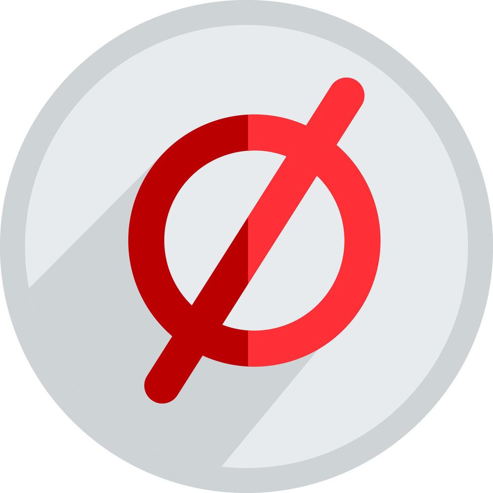 Not Allowed Symbol