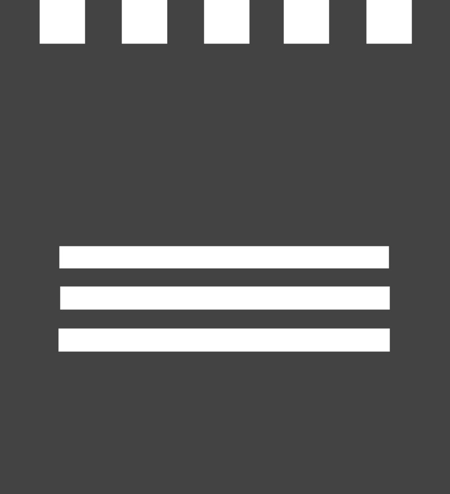 Note 1 Glyph Icon