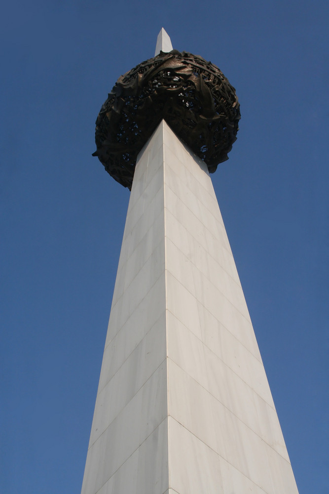 Obelisk In Bucharest