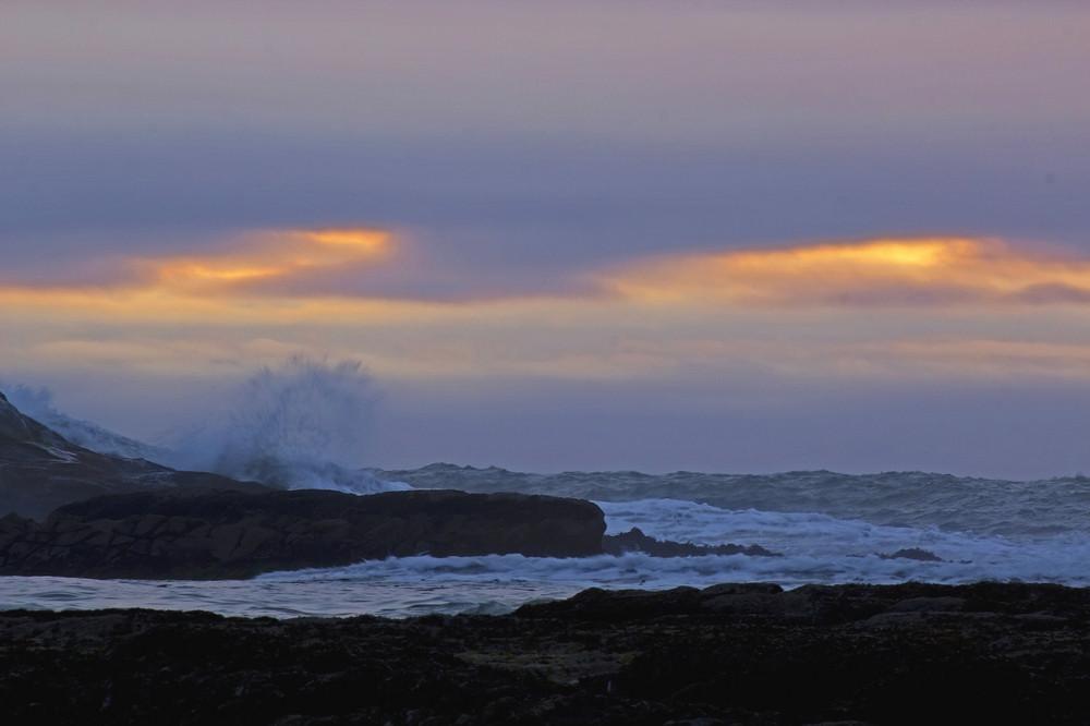 Ocean At Evening