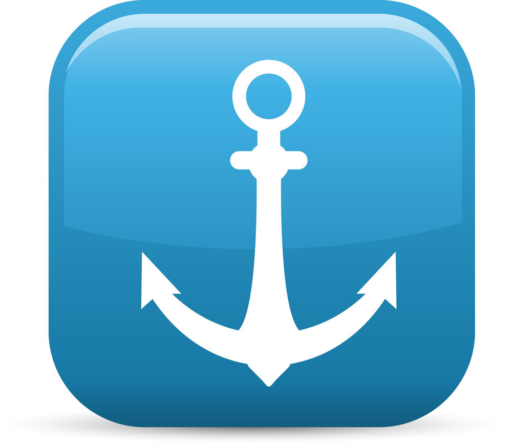 Ocean Travels Elements Glossy Icon