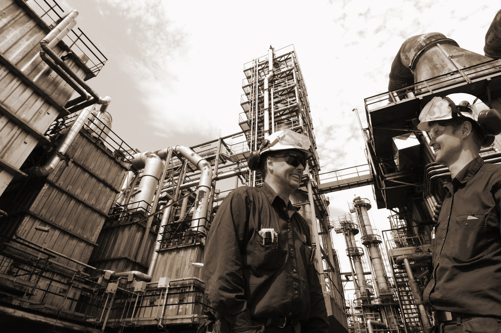 oil engineers and refinery industry