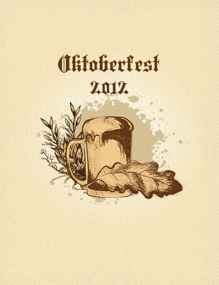 Oktoberfest Celebration Vector