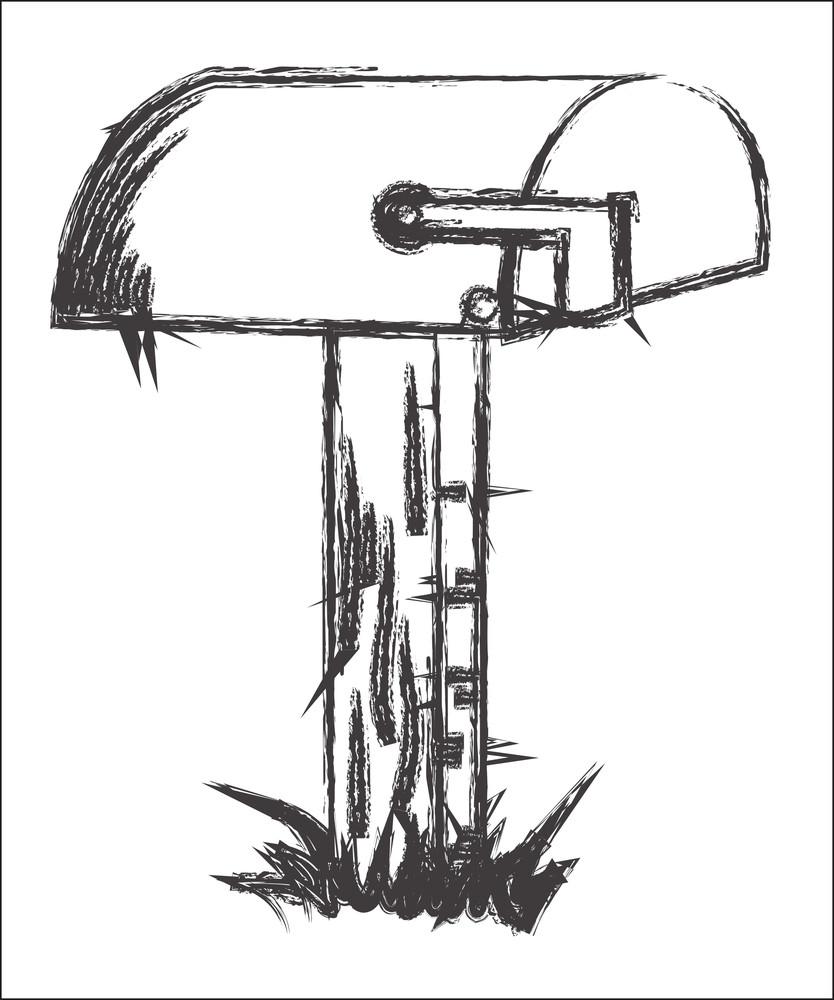 Old Letterbox Sketch